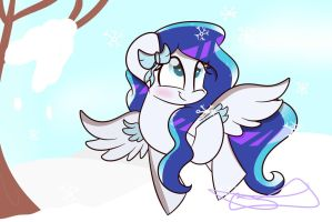 FlurryNote (Point Commission) by BronyCooper