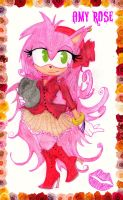 Amy Rose by chuckylovestiff123