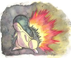 Cyndaquil by The-EverLasting-Ash