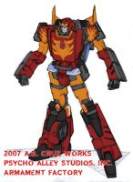 RODIMUS GT Ver. by ARMAMENTFACTORY