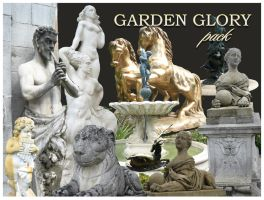Garden glory statues pack by Redilion