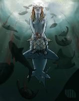 The mermaid and the bycatch by MariusDihr