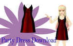 MMD Party Dress Download by MMD-Nay-PMD