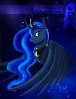 Princess Luna by Midnight6-6-6