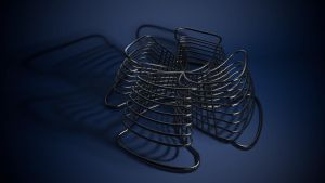 Abstract Spiral-ish Model by KevinLongtime
