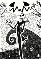 Jack Skellington by Arkyz