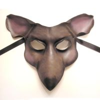 Mouse or Rat Leather Mask by teonova