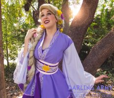 Rapunzel Cosplay Kimono Dress - Sabakon 2016 by DarlingArmy