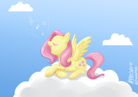 Singing practice by Apple-Cake