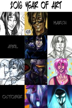 Art Summary 2016 by broseidon