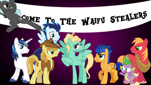 Welcome To The Waifu Stealers by SapphireArtemis