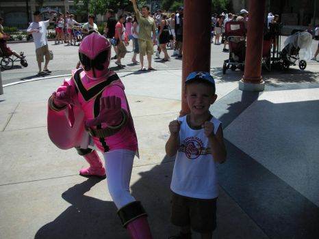 Pink Mystic Power Ranger by sailor-kitty19