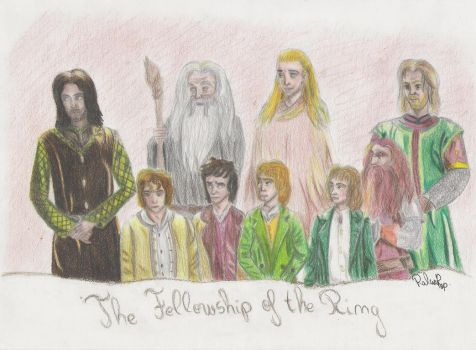 The Fellowship of the Ring by RalucaPop