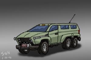 Combat Van by ScottaHemi