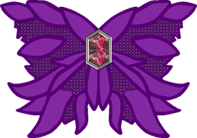 Dark Mars Butterfly Bow by Iggwilv