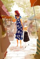 Sunday market by PascalCampion