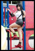 Tifa - Recess Time by Kuragiman