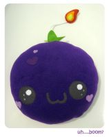 Plush Blackcurrant Bomb by kickass-peanut