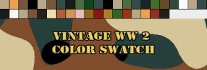 Vintage World War 2 Swatch by silver-