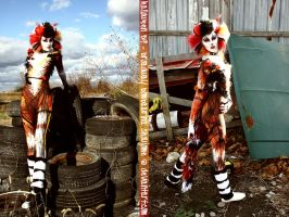 Halloween 2009 - Bombalurina by shoujome
