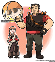 Random - Takeo Fortress 2 by Dragonith