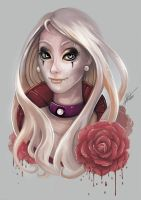 Bloody Rose by ARTdesk