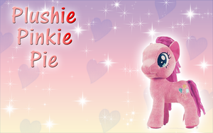 AT-Plushie Pinkie Pie Wallpaper by Supremechaos918