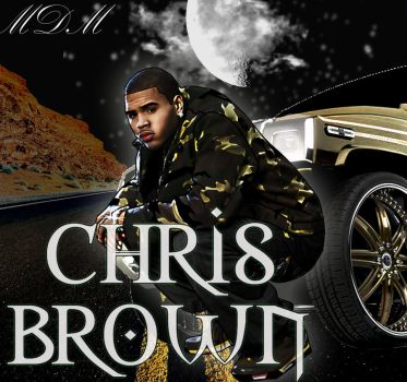 chris brown by Mikehot2death