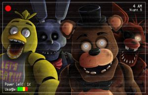 Five Nights At Freddys  by WiL-Woods