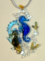 Seahorses by Glasmagie