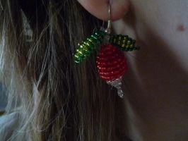 Luna Lovegood's earrings again by Cosmashivah