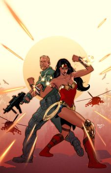 Wonder Woman : Steve Trevor cover by PaulRenaud
