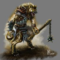 Gnoll variant by Kobaltmaster