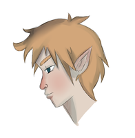 Commission Example: Male Portrait Sketch (Open) by rinatan-chu