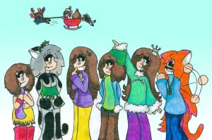 Merry Christmas 2011-2012 :3 by lizabey