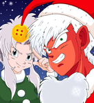 Jeice X Saku Christmas 2013 by Weasley-Detectives