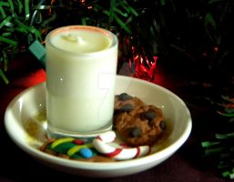 Christmas Cookie Candle I by thedustyphoenix