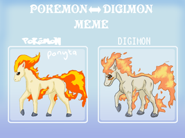 Pokemon-Digimon meme by bbslugger