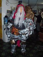 War costume completed by FoamFusion