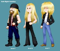 Rock Star Evolution No.1 by clerichan
