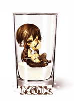 Cup Collab - Milk by roxaann