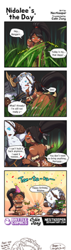 [19GoldLoL] Nidalee's 'the Day' by Nestkeeper