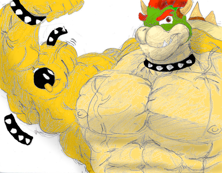 Colored Max-Bowser by Bulgefan