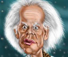 Doc Brown by adavis57