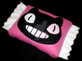 Cookie Cat Wrapper Pillow by 13anana