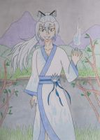 Yokai Contest Onibi by Quina-chan