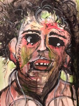 LeatherFace by DEES-NUTS-NO-MO