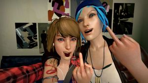 F*** you Selfie by StaroSeren