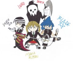 Chibi Soul Eater meisters?! by HumbertandKlaus