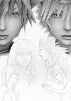 Kingdom Hearts WIP 5 by Cataclysm-X